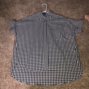 BRAND NEW Madewell gingham courier shirt